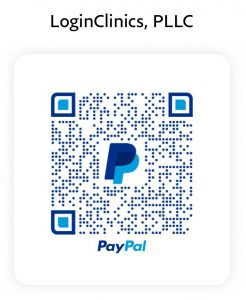 LoginClinics PPLC PayPal QR-Code