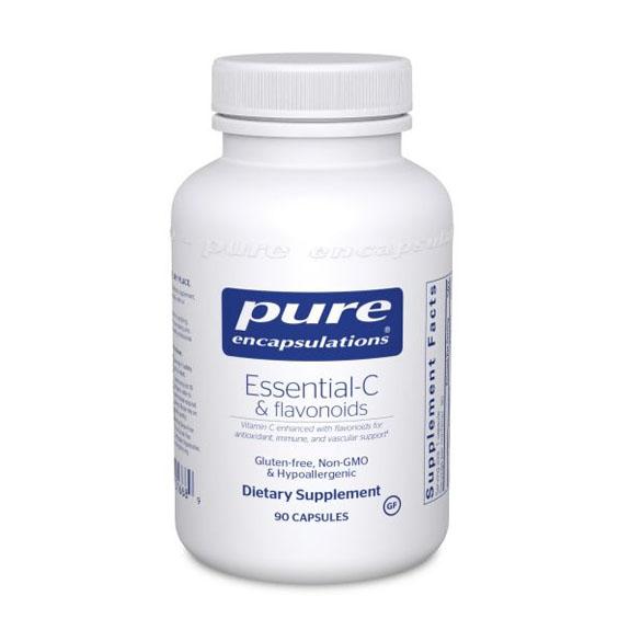 Pure Encapsulations Essential-C & Flavonoids