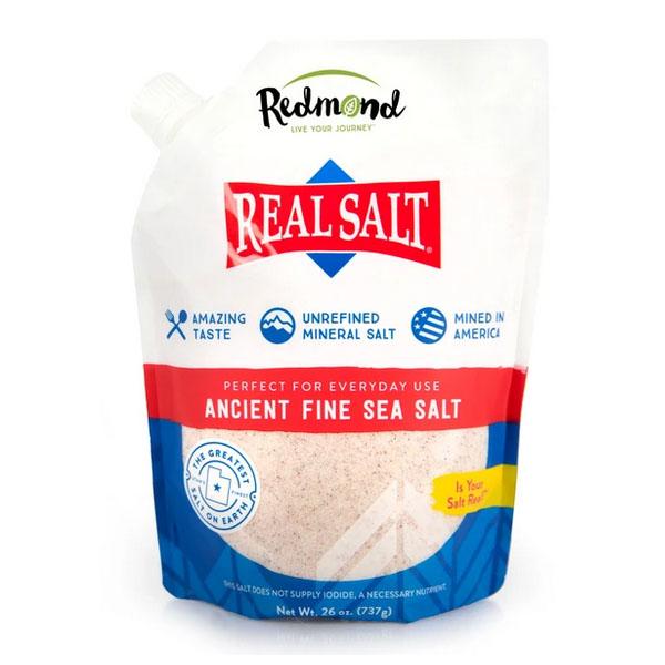 Redmond Ancient Fine Real Sea Salt